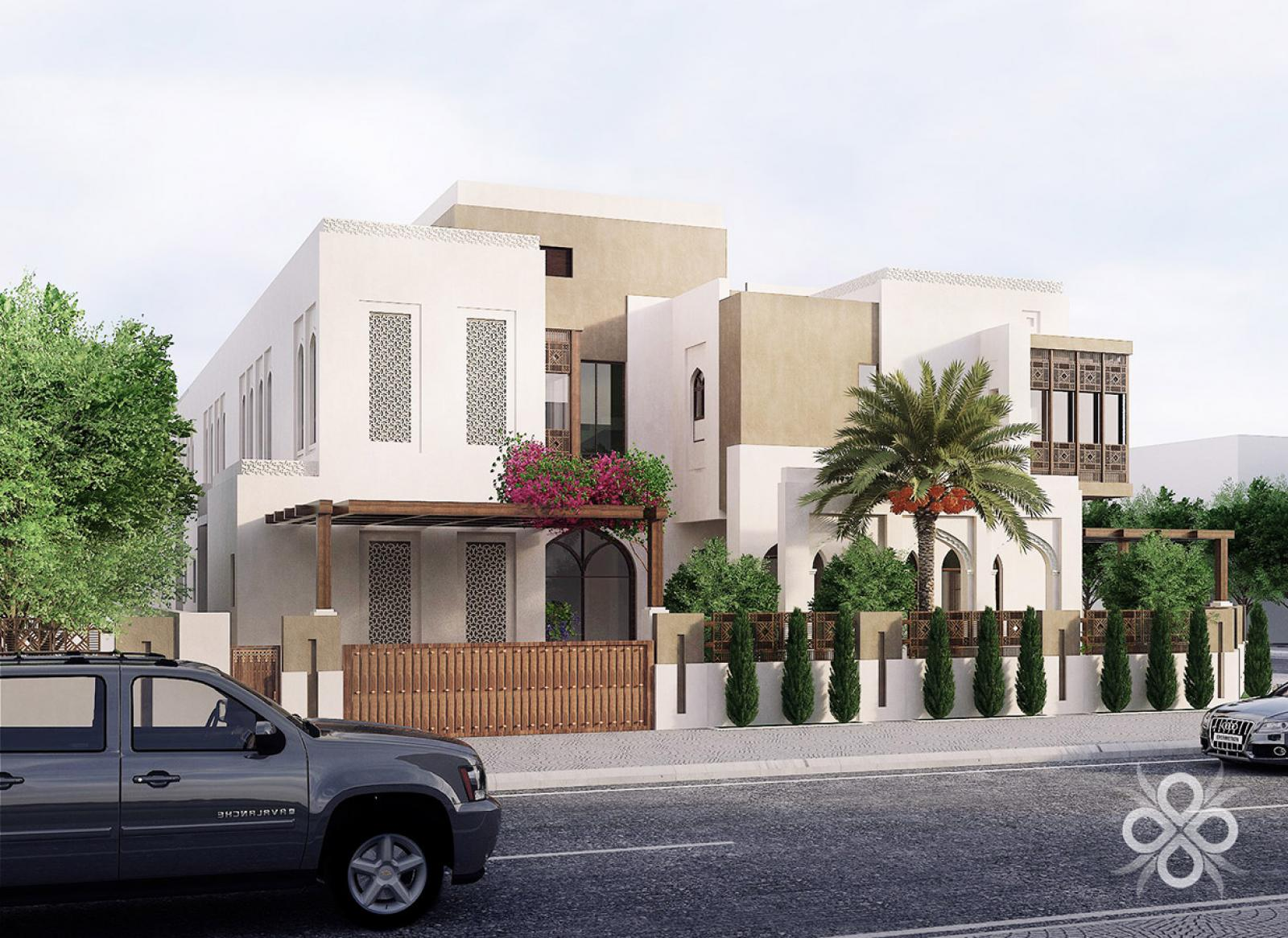 Commercial Courtyard Houses in Kuwait